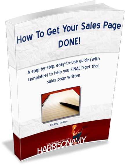 How to get your sales page done the sales page ebook for business how to get your sales page done spiritdancerdesigns Image collections
