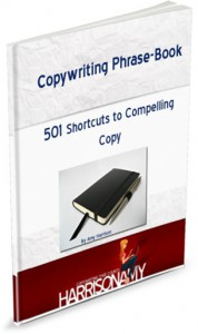 Get rid of your writing headaches with this easy to use copywriting phrase-book