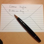 "Creating ""Back of an Envelope"" Customer Profiles for Content-Marketing"