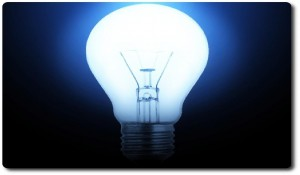 Have more lightbulb moments when thinking up blog topics