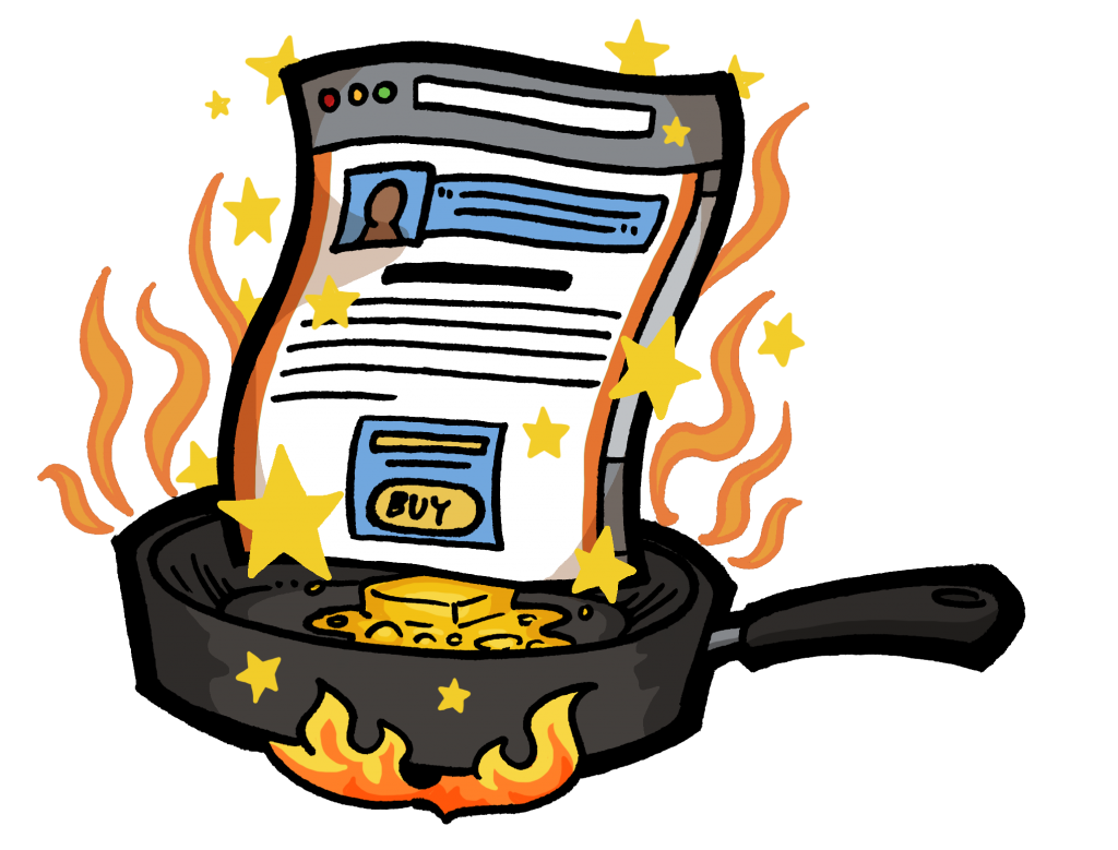 Make your sales page sizzle