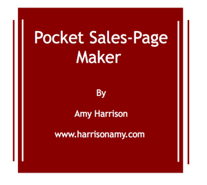 pocket sales page