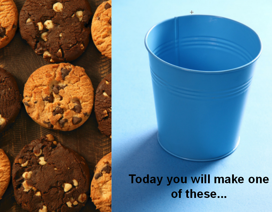 cookie bucket