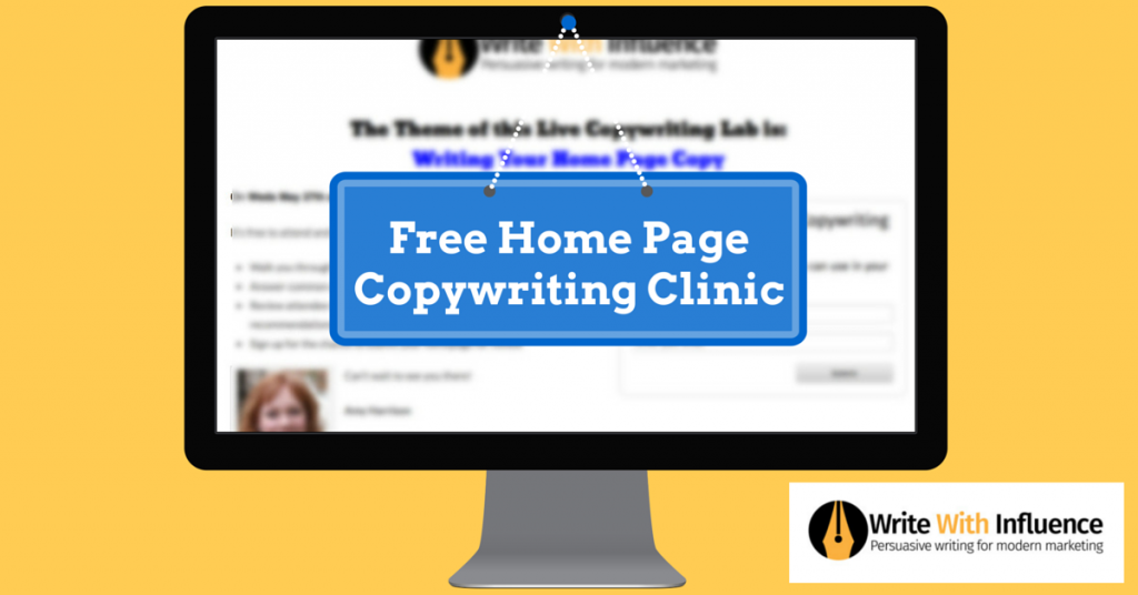 Free Home Page Copywriting Clinic