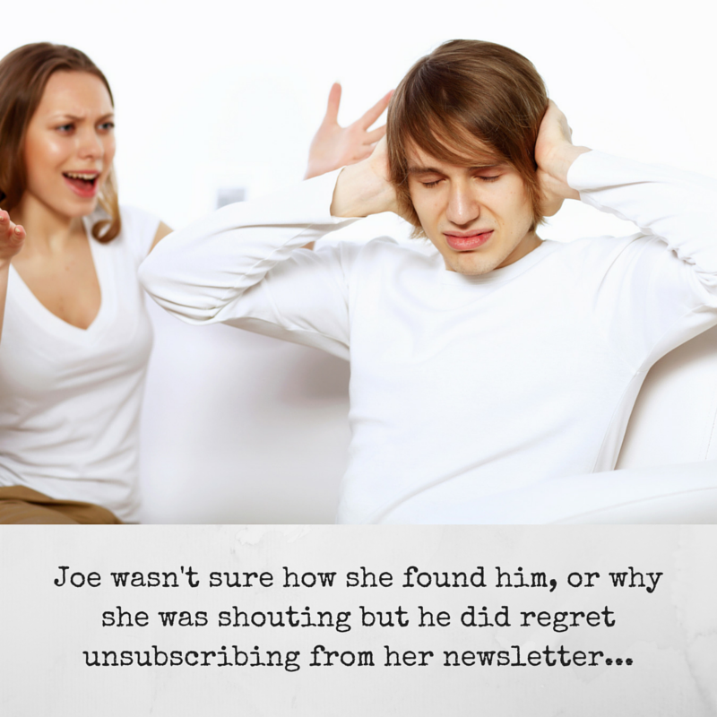 Joe wasn't sure how she found him, or