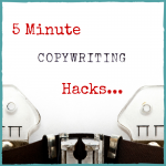 "5 Minute Copywriting Hack – How to Nail The Answer to: ""What Do You Do and Why Should I Care?"""