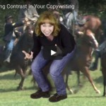 AmyTV #33 Using Contrast in Your Copywriting